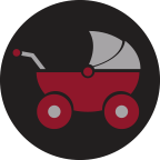 icon of stroller